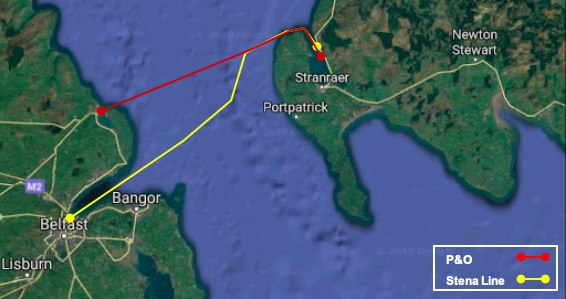 Scottish Solway: Ferry Routes
