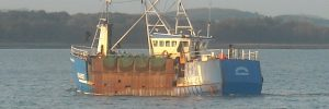 Scallop fishing boat