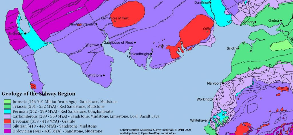 Overview of the Geology of the Solway Region